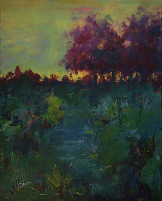 Painting - Twilight by Terri Einer