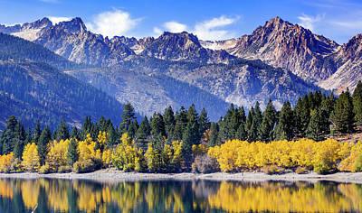 Photograph - Twin Lakes 1 by Nick Borelli