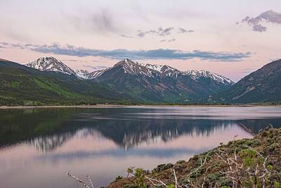 Minimalist Movie Quotes - Twin lakes Colorado Mt Elbert by Greg Wyatt