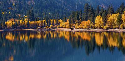 Photograph - Twin Lakes Reflection by Nick Borelli