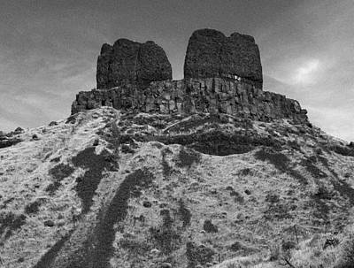Photograph - Twin mesas by Jean Evans