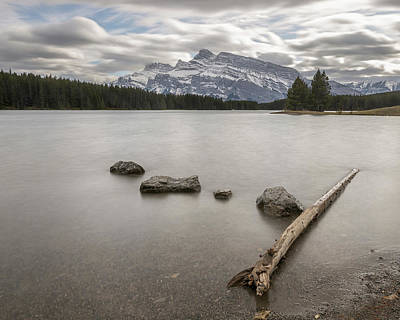 Photograph - Two Jack Lake by Jennifer Grover