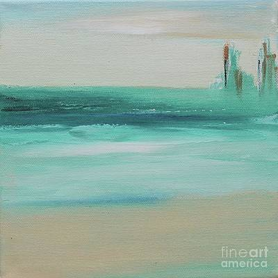 Painting - Two Pillars by Kim Nelson