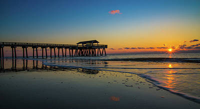 Photograph - Tybee Island Pier by Christopher Nelson