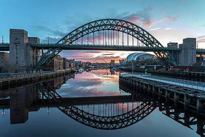 Photograph - Tyne Bridge tb0072 by David Pringle