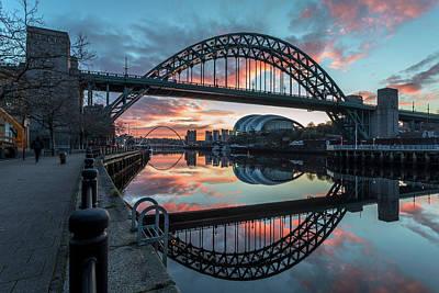 Photograph - Tyne Bridge tb0073 by David Pringle