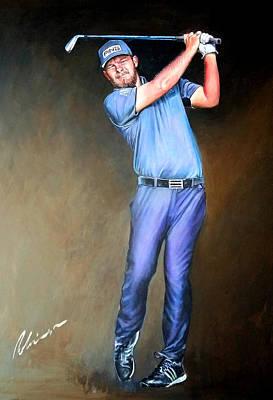 Painting - Tyrrell Hatton by Mark Robinson