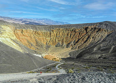 Truck Art - Ubehebe Crater, Death Valley by Patti Deters