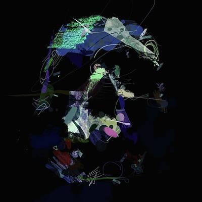 Digital Art - Uncontrolled Perturbations No. 5 by Matthew Daigle