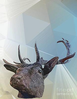 Animals Digital Art - Unicorn by Chris Bee Photography