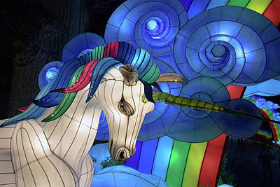 Royalty-Free and Rights-Managed Images - Unicorn Forest by Martin Newman