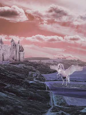 From The Kitchen - Unicorn Kingdom Fantasy Colors by Judy Vincent