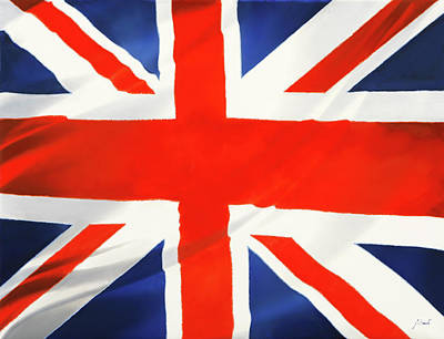 Royalty-Free and Rights-Managed Images - Union Jack by Guido Borelli