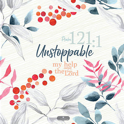 Digital Art - Unstoppable by Claire Tingen