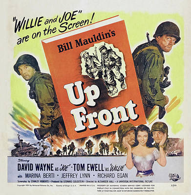 Royalty-Free and Rights-Managed Images - Up Front, 1951 by Stars on Art