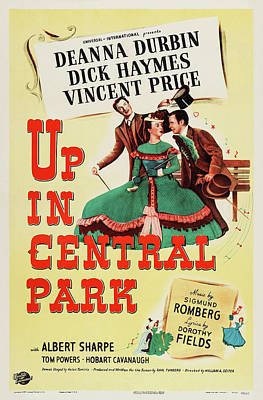 Royalty-Free and Rights-Managed Images - Up In Central Park, with Deanna Durbin, 1948 by Stars on Art