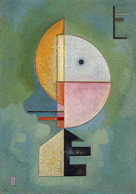 David Bowie Royalty Free Images - Upward by Vassily Kandinsky Royalty-Free Image by Arpina Shop