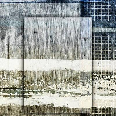 Mixed Media - Urban Rains by Carol Leigh