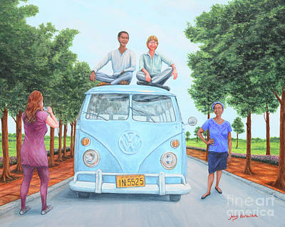 Garden Tools - Us and the Kombi by Aicy Karbstein