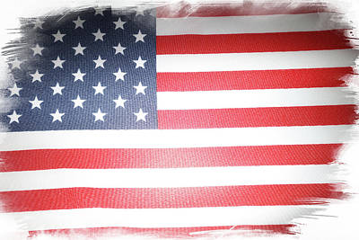 David Bowie Royalty Free Images - USA flag  Royalty-Free Image by Les Cunliffe