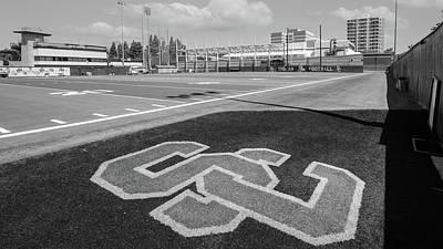 Lake Life - USC Practise Football Field  by John McGraw