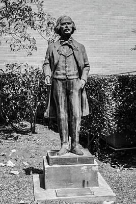 Lake Life - USC Statue  by John McGraw