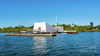 Fruits And Vegetables Still Life - USS Arizona Memorial by Phillip Espinasse