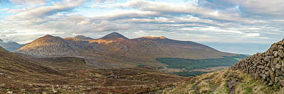 Photograph - Valleys of the Mournes by Darren Forde