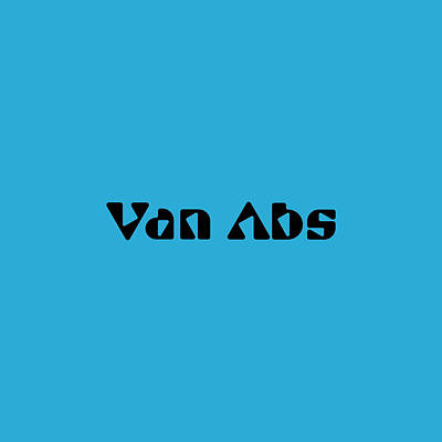 Royalty-Free and Rights-Managed Images - Van Abs by TintoDesigns