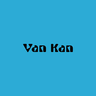 Royalty-Free and Rights-Managed Images - Van Kan by TintoDesigns
