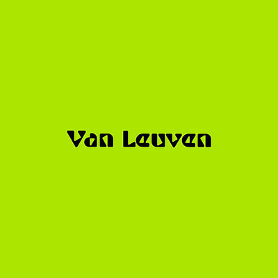 Royalty-Free and Rights-Managed Images - Van Leuven by TintoDesigns