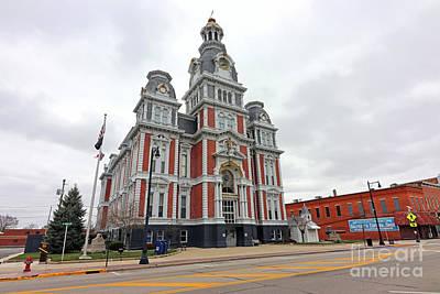 Unicorn Dust - Van Wert County Courthouse Van Wert Ohio  3651 by Jack Schultz