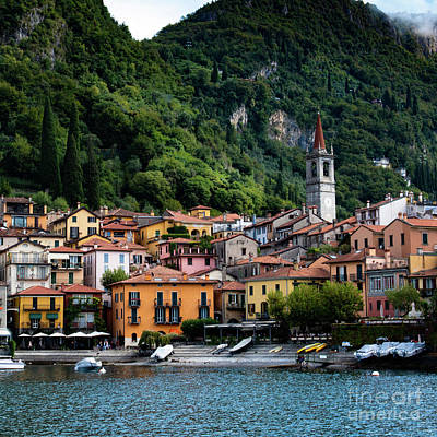 Photograph - Varenna On Lake Como by Laurel McFarland