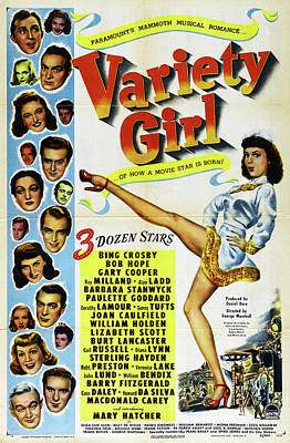 Travel - Variety Girl, with Bing Crosby and Bob Hope, 1947 by Stars on Art