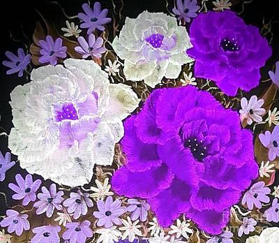 Studio Grafika Science - Grandeur Mini Purple  by Angela Whitehouse
