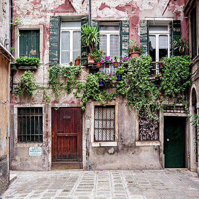 Whats Your Sign - Venetian House by Barry O Carroll