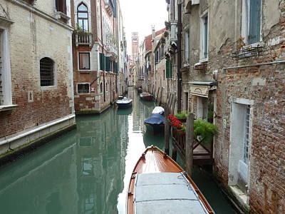 Photograph - Venice Canal by Jo Johnson