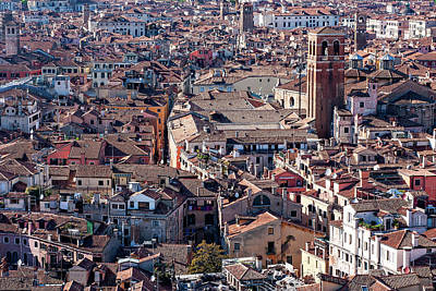 Whats Your Sign - Venice Rooftops by Barry O Carroll