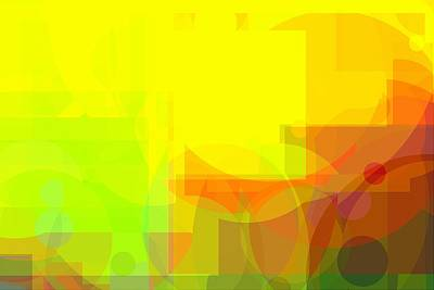 Royalty-Free and Rights-Managed Images - very bright Colorful abstract background in primary colours by David Ridley