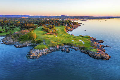 Recently Sold - Sports Royalty-Free and Rights-Managed Images - Victoria Golf Club Ocean View by Mike Centioli