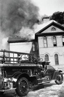Whats Your Sign - Victoria School Fire - Winnipeg, Mb Canada -1930-mar-14 - Image 2 by Robert McAlpine