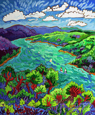 Painting - View from Esperanza by Cathy Carey