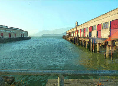 Photograph - View of Fort Mason by Jessica Levant