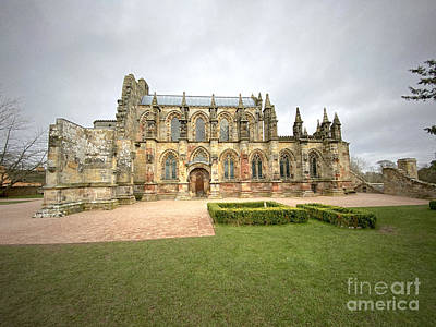Fantasy Royalty-Free and Rights-Managed Images - View of Rosslyn Chapel 2 by Douglas Brown