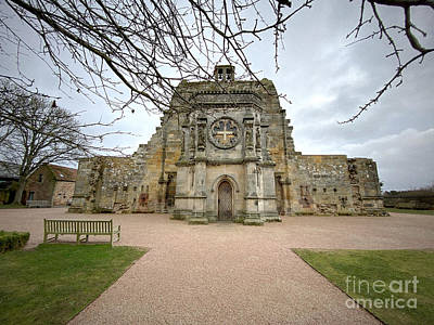 Fantasy Royalty-Free and Rights-Managed Images - View of Rosslyn Chapel South Entrance by Douglas Brown