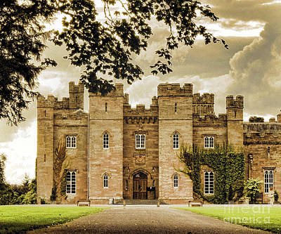 Photograph - View to Scone Palace-Perth-Shire,Scotland by Dave Harnetty
