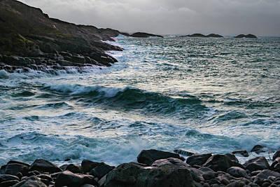 Grace Kelly - Vik Emerald Waves by Norma Brandsberg