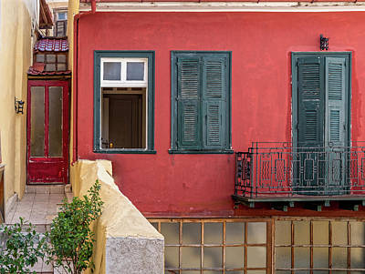 Bath Time Rights Managed Images - urban vivid colors in Greece Nafplion  Royalty-Free Image by Dimitrios P