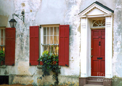 Urban Abstracts - Vintage Pirates House - Charleston South Carolina by Dale Powell