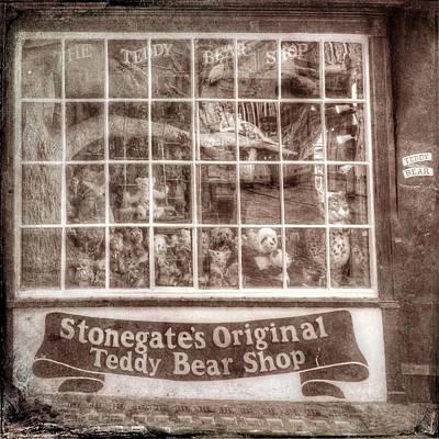 Roaring Red - Vintage Teddy Bear Shop by David Pyatt